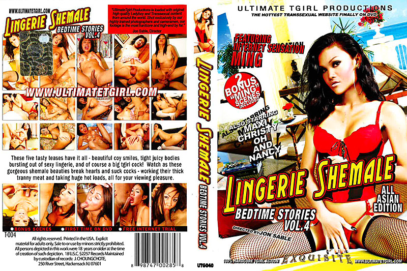 Lingerie Shemale Bedtime Stories Vol.4