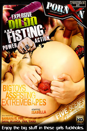 Explosive Dildo and Pissing Power Action 18